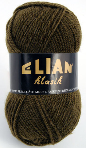 Knitting yarn Klasik 2565 - green