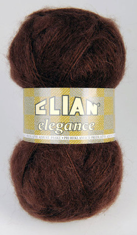 Knitting yarn Elegance 3624 - brown - Yarn Elegance  3624