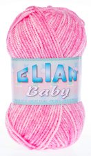 Knitting yarn Baby 709 - pink