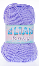 Knitting yarn Baby 625 - purple