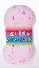 Knitting yarn Color Baby - 049 pink
