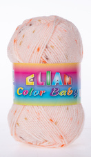 Knitting yarn Color Baby - 741 Orange