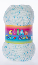 Knitting yarn Color Baby - 747 blue