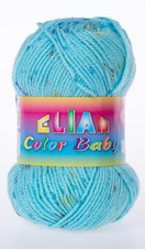 Knitting yarn Color Baby - 138 blue