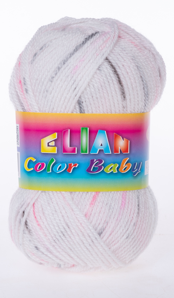 Knitting yarn Color Baby - 333 pink - Color Baby - 333