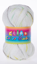 Knitting yarn Color Baby - 332 green