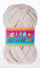 Knitting yarn Color Baby - 334 Brown