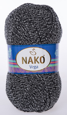 Knitting yarn Vega - 21297 grey