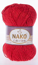 Knitting yarn Calico Simli 2209 - red