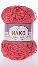 Knitting yarn Calico Simli 11037 - red