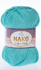 Knitting yarn Calico Simli 11221 - green