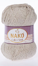 Knitting yarn Calico Simli 10874 - beige