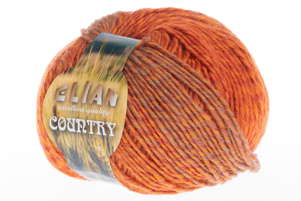 Strickgarn Country 20543 - grün - strickgarn Elian Country 20543