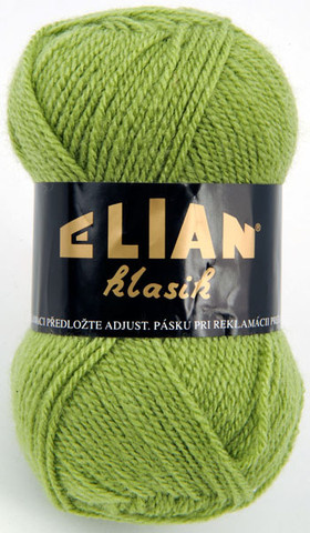 Knitting yarn Klasik 3826 - green - Yarn Klasik 3826