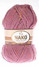Strickgarn Super Inci Hit Tweed 569 - rosa