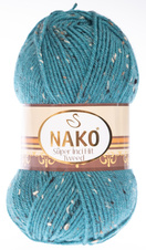 Strickgarn Super Inci Hit Tweed 6634 - blau