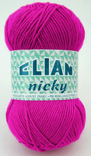 Strickgarn Nicky 6314 - lila