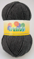 Strickgarn Wendy 340  - grau