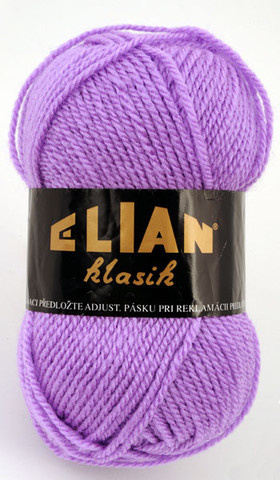 Knitting yarn Klasik 5862 - purple - Yarn Klasik 5862