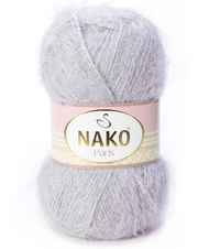 Strickgarn Nako Paris 03079 grau