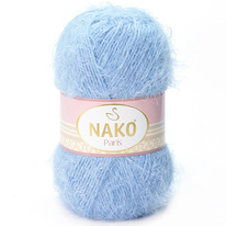Strickgarn Nako Paris 04129 blau