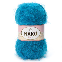 Strickgarn Nako Paris 10328 blau