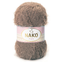 Strickgarn Nako Paris 03890 braun