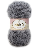 Strickgarn Nako Paris 21305 grau