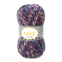 Strickgarn Nako Pop Mix 86591 - blau