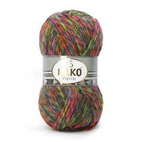Strickgarn Nako Pop Mix 86750 - rot