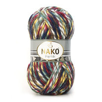 Strickgarn Nako Pop Mix 86755 - gelb