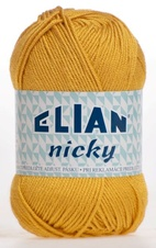 Strickgarn Nicky 6686 - gelb