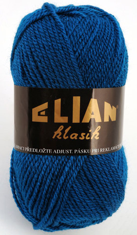Knitting yarn Klasik 2335 - blue - Yarn Klasik 2335