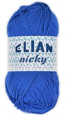 Knitting yarn Nicky 133 - blue