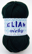 Knitting yarn Nicky 204 - green