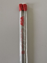 Aluminium Straight knitting needles VSV - 6mm