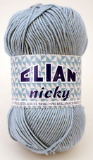 Knitting yarn Nicky 231 - blue