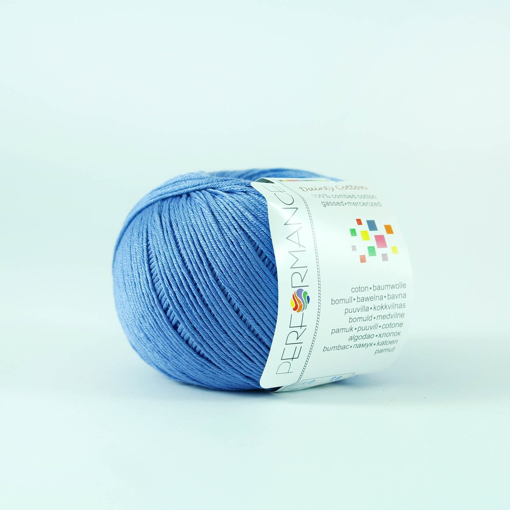 Dainty Cotton 93 - blue - Cotton yarn Dainty Cotton 93 yarn - blue