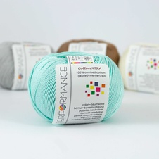 Cotton Xtra 136 - modrá 50g 150m