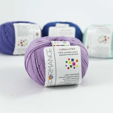 Cotton Xtra 54 - lila 50g 150m