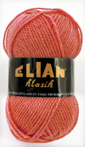Knitting yarn Klasik 4275 - salmon - Yarn Klasik  4275