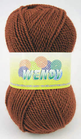 Strickgarn Wendy 838 - braun - Garn Wendy 838