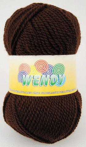 Strickgarn Wendy 1182 - braun - Garn Wendy 1182