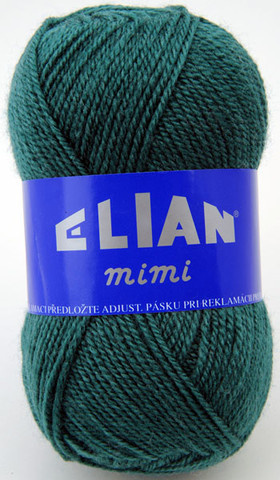 Knitting yarn Mimi 213 - green - Yarn Mimi 213