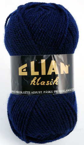 Knitting yarn Klasik 148 - blue - Yarn Klasik 148
