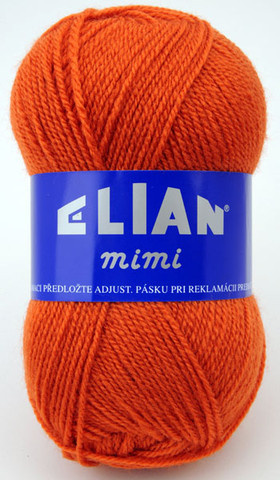 Strickgarn Mimi 3176 - orange - Garn Mimi 3176