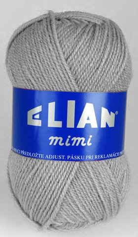 Knitting yarn Mimi 5296 - grey - Yarn Mimi 5296