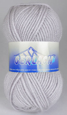 Knitting yarn Gerlach 10020 - grey