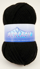 Knitting yarn Gerlach 217 - black