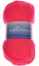 Knitting yarn Gerlach 916 - red